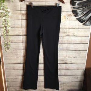 Athleta black yoga pants size M